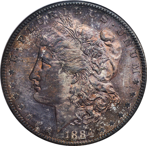 Picture of 1884-S MORGAN S$1 MS65