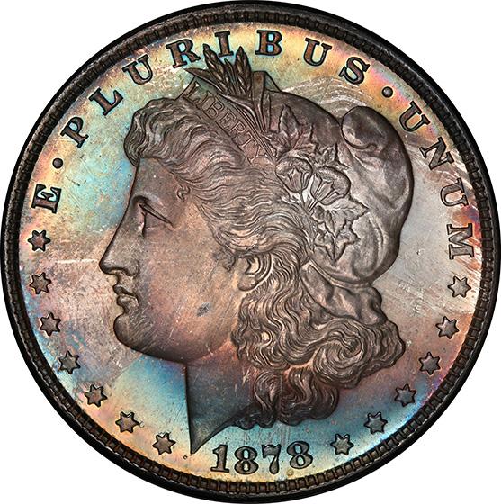 Picture of 1878 MORGAN S$1 PR66+