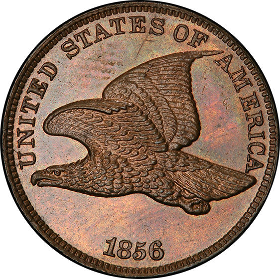 Picture of 1856 FLYING EAGLE 1C PR65