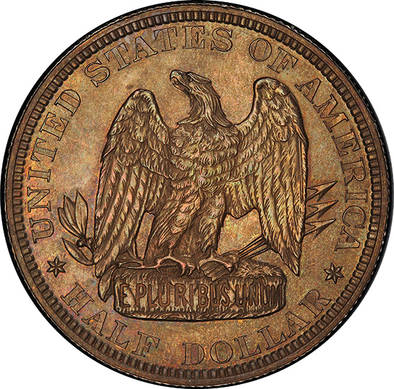Picture of 1877 50C J-1538 PR65 Brown