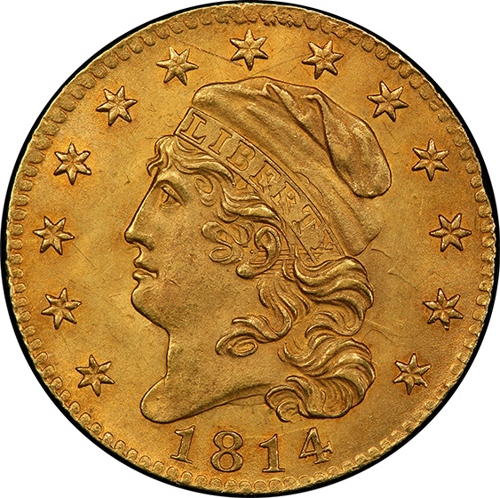 Picture of 1814/3 CAPPED BUST $5 MS64