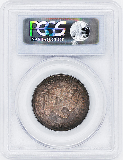 Picture of 1842-O LIBERTY SEATED 50C, SMALL DATE, REV 1839 MS62