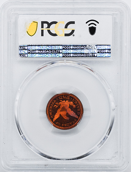 Picture of 1867 $2 1/2 J-595 PR65 Red
