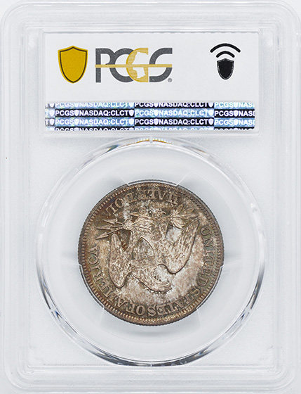 Picture of 1859-O LIBERTY SEATED 50C, NO MOTTO MS66+