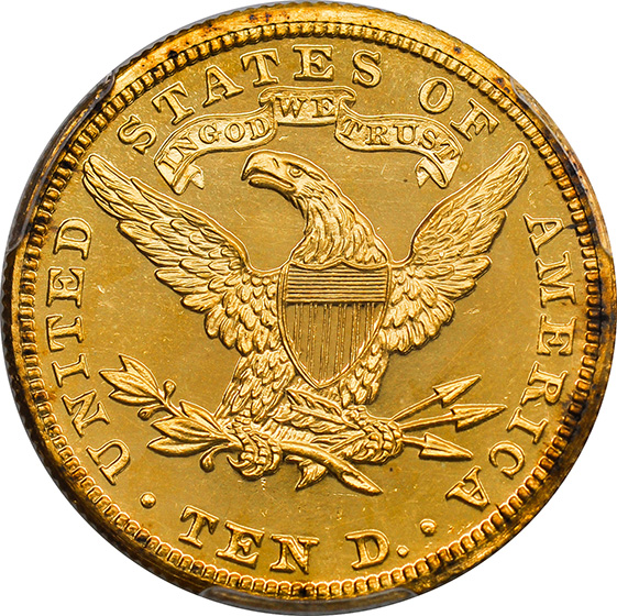 Picture of 1900 LIBERTY HEAD $10 PR64 Cameo