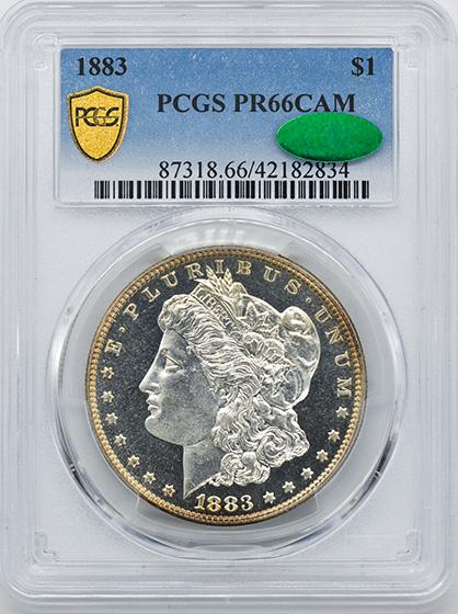 Picture of 1883 MORGAN S$1 PR66 Cameo