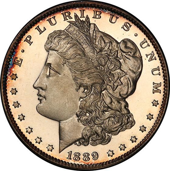 Picture of 1889 MORGAN S$1 PR66 Cameo