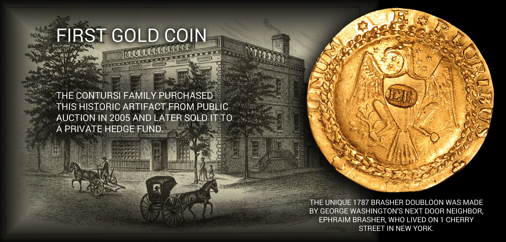 First Gold Coin Banner