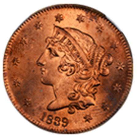 Picture for category Coronet Head Cents