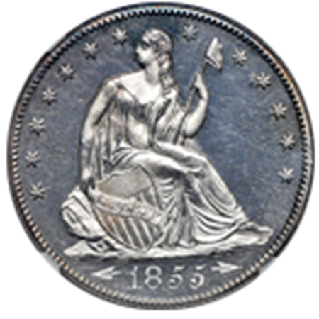 Picture for category Liberty Seated Half Dollars
